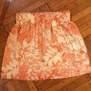 Club Monaco Print Skirt